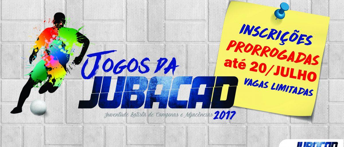 Link permanente para: JOGOS JUBACAD 2017
